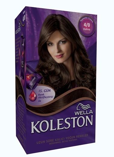 Koleston Koleston Kit Saç Boyası 4/0 Kahve Renkli
